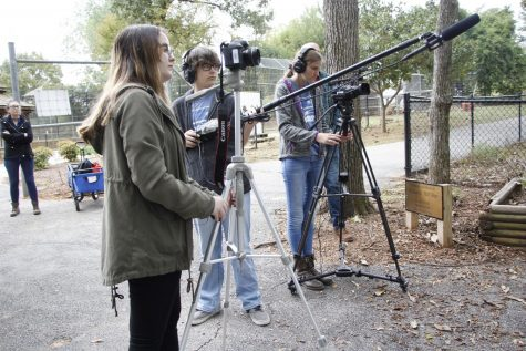 Students in Advanced Audio/Visual Class Partner With Theater to Create Films