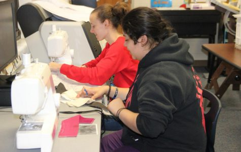 Students Create Blankets for Children in Hospitals
