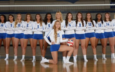 Volleyball Teams Receive District Awards