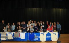 Athletes Sign to Play in College