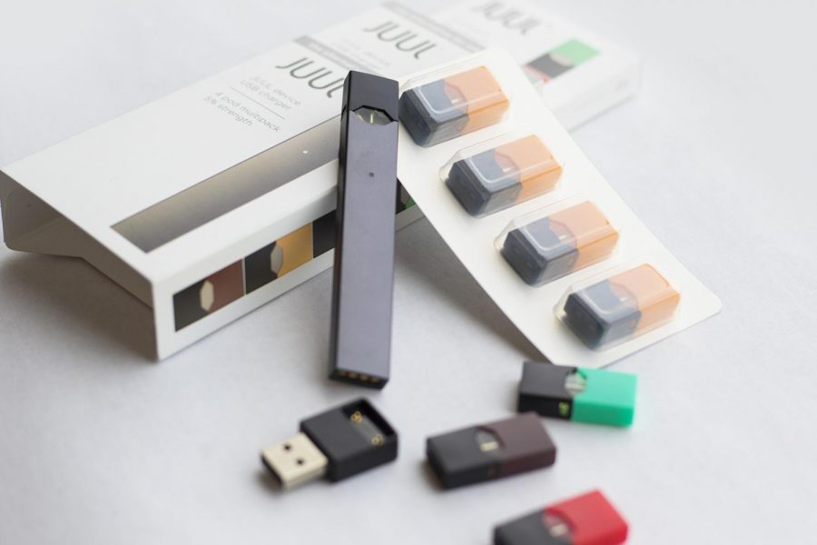 Juuls are small devices that look like thumb drives. They fit into the palm of the hand and can be easily hidden. This photo was taken by The Truth Initiative.   Check out their story at https://truthinitiative.org/news/what-is-juul