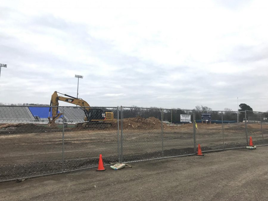 Construction begins on Eagles Stadium. It is expected to be completed by the first home football game of the 2019-2020 school year.