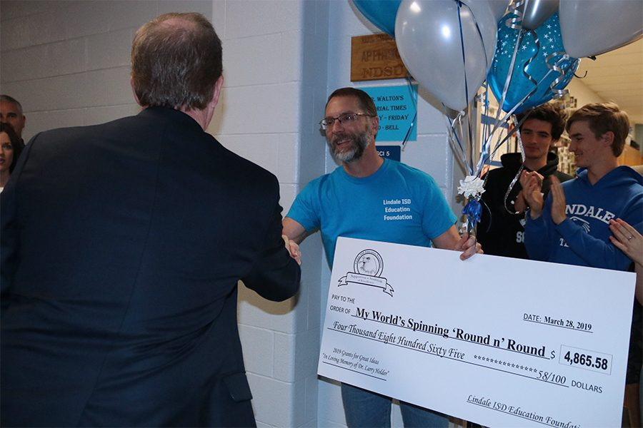 LISD Education Foundation Hosts Yearly Grant Patrol