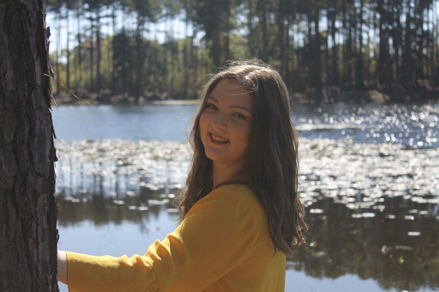 Mara Griffin during her senior year.