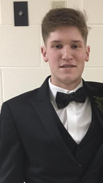 Nate Schmid during his senior year.