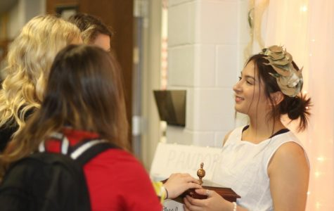 English Classes Host Interactive Wax Museum