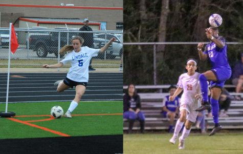 Athlete Spotlight: Senior Soccer Players Braeleigh Flickinger and Samuel Cox