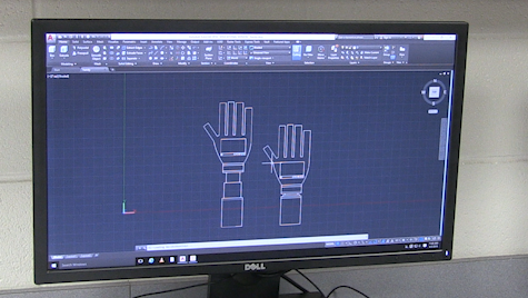3D Printing Class Designs Prosthetic Arms