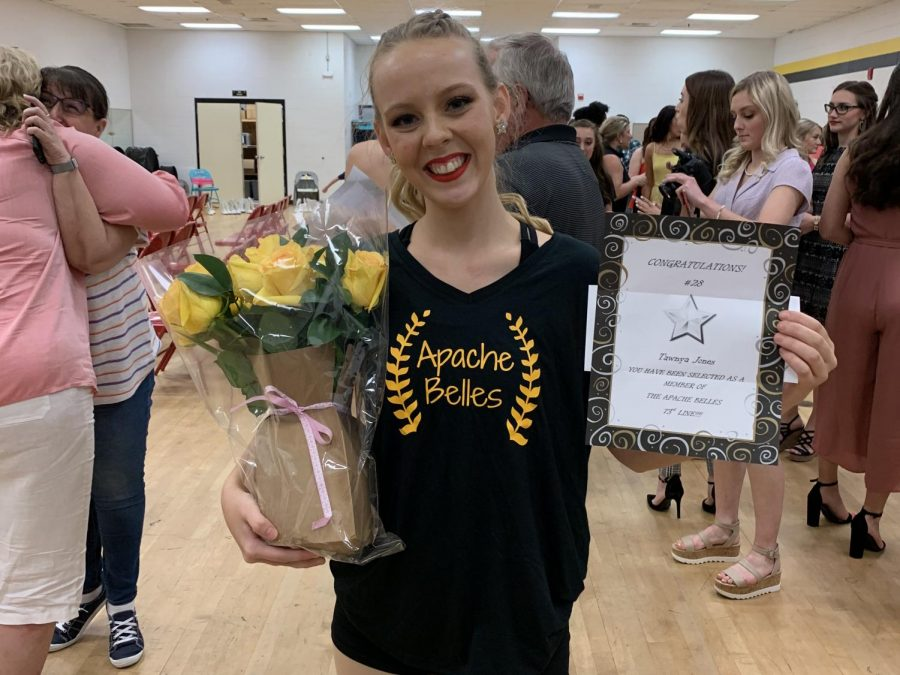 Senior Makes TJC Apache Belles