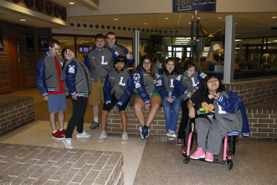 Life Skills Students Earn Letter Jackets