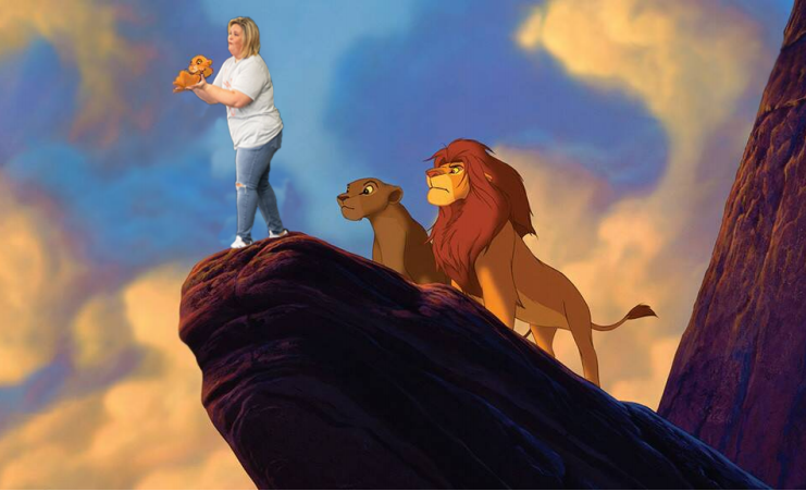 LHS graphic design students participate in a Photoshop contest from Candace Payne, better known as Chewbacca Mom.