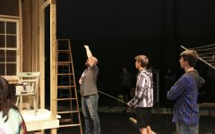 Theater Class Designs Sets for Two Plays