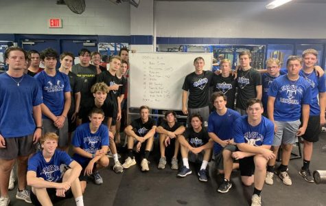 Baseball Completes 9/11 Tribute Workout