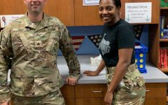 Texas Army National Guard Members Speak to Law Classes