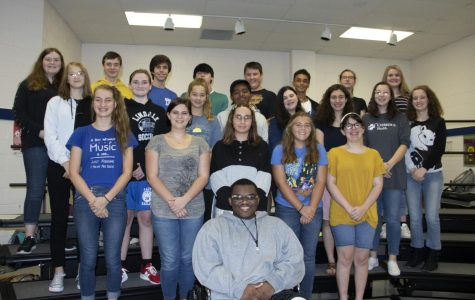 28 students competed to find a place in the All Region Choir, and 23 students made it.