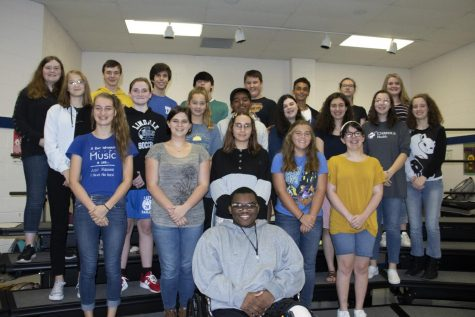 Band Students Participate in All-Region Clinic