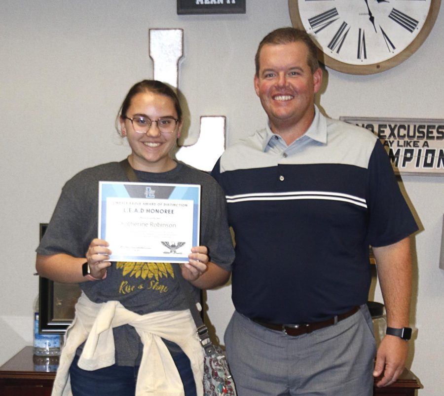 Student of the Month: Katie Robinson [October]