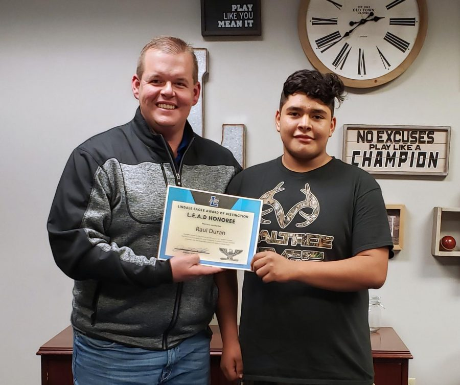 Student of the Month: Raul Duran [November]