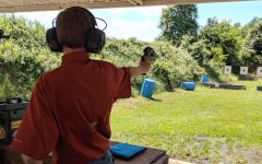Students Participate in Competitive Shooting Club