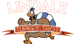 Senior Creates Turkey Trot Logo