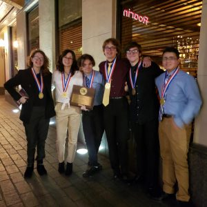 EagleVision Film Students Named State Champs