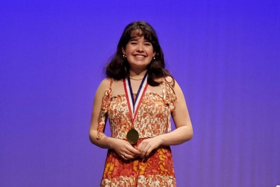 Senior Wins Outstanding Performer Award