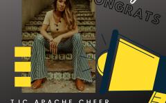 Senior Makes TJC Apache Cheer Team