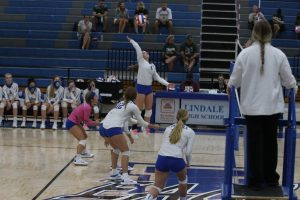 Lady Eagle Volleyball Starts the Season Off Strong
