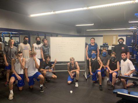 Baseball Team Participates in 9/11 Tribute