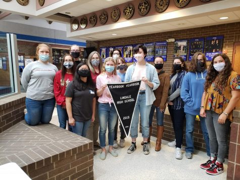 Yearbook Students Recognized for Yearbook Excellence