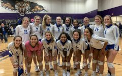 Lady Eagles Volleyball Bi-District Champs
