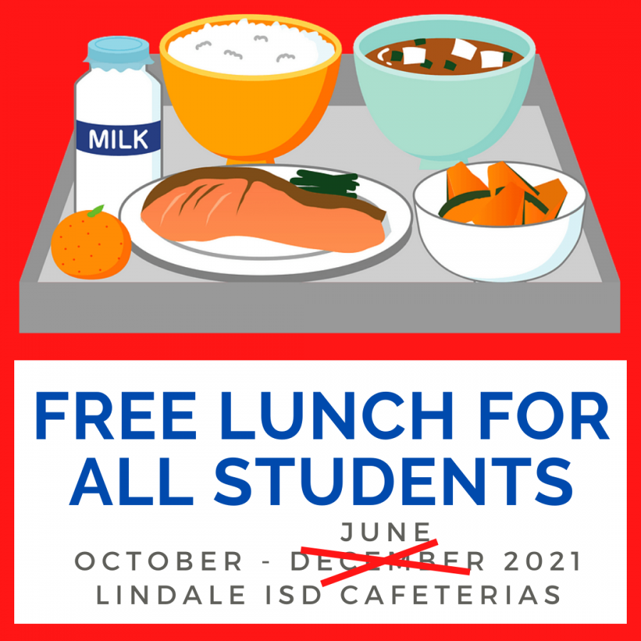 Free Lunches Extended For Rest of Year [Press Release]