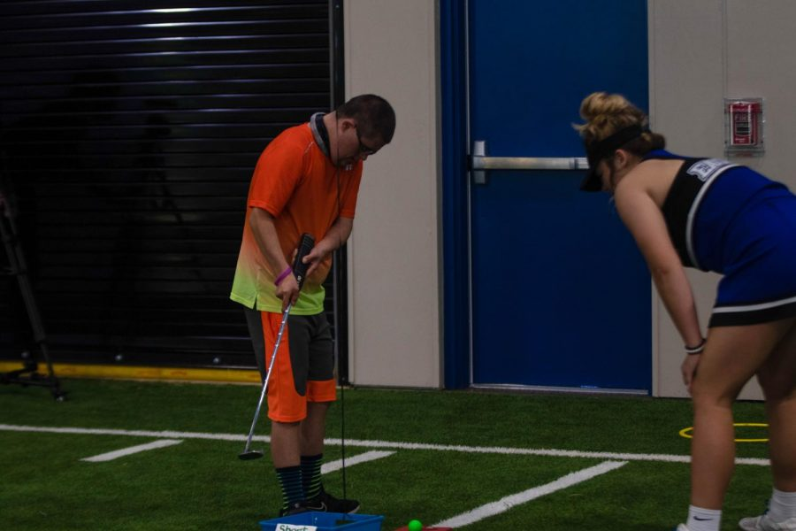 Students compete in the Fall Classic. This was hosted in the MAC last Friday.