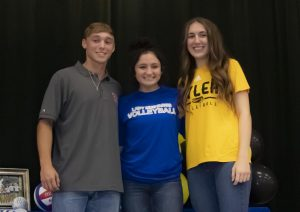 Three Seniors Sign to Play Sports at Collegiate Level