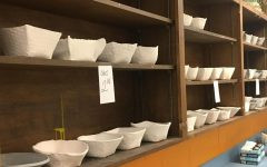 Art 1 Students Make Bowls for Charity