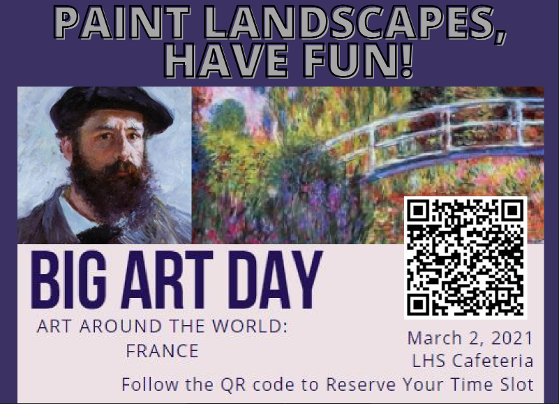 Flier for Big Art Day