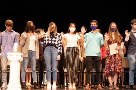 NHS Welcomes New Inductees