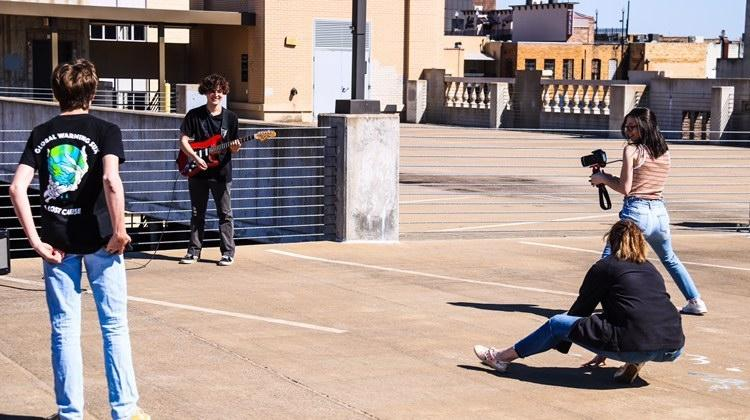 Student Directs and Edits Music Video