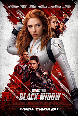 Black Widow was released July 9. It can be viewed on Disney+.