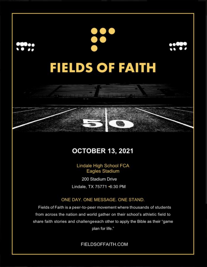 FCA To Host Fields of Faith